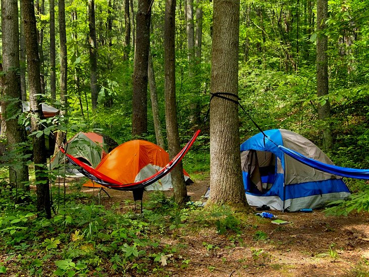 ultralight tent or hammock