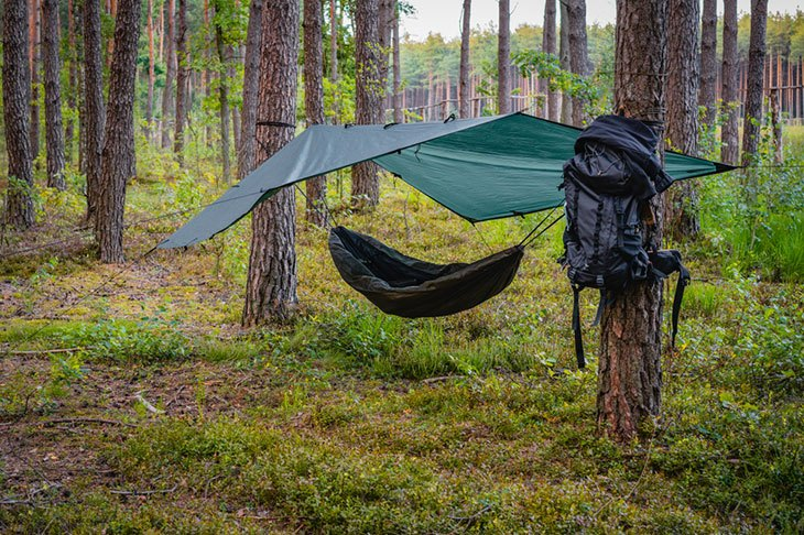 tent or hammock cold weather