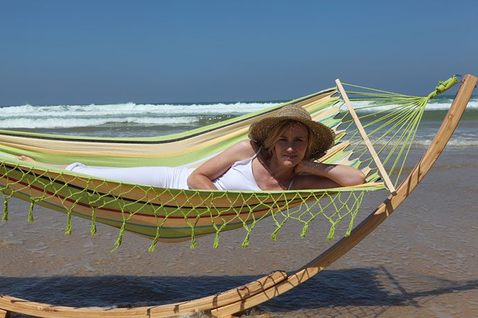 outdoor hammock chair and stand