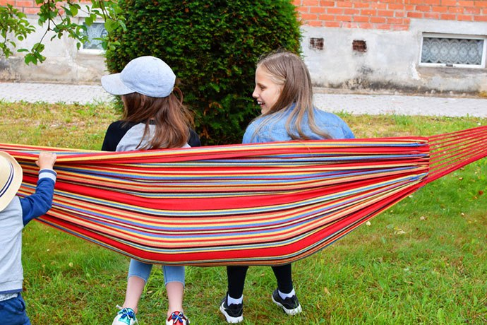 outdoor hammock with stand and canopy